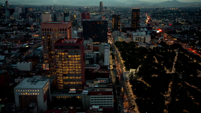 Mexico City at Dusk video