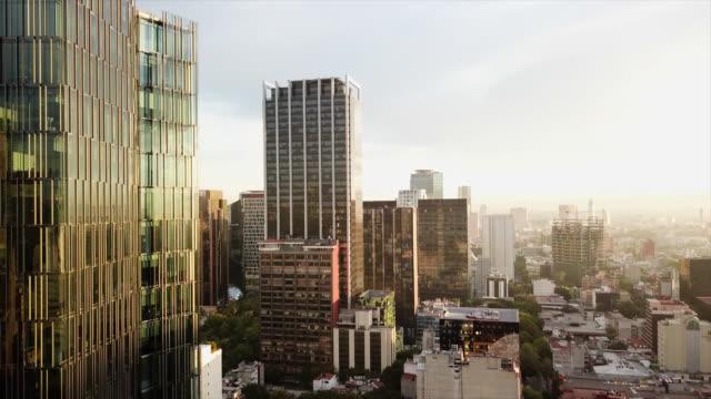 mexico city skyline - город мехико стоковые видео и кадры b-roll