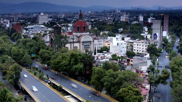 Mexico City Time Lapse video