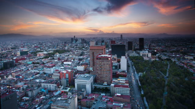 время lapse: город мехико - город мехико стоковые видео и кадры b-roll