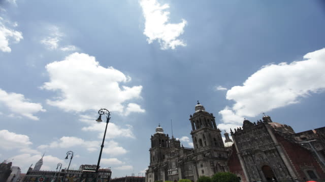Mexico City Zocalo video