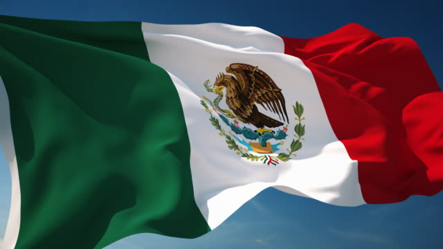 4K Mexico Flag - Loopable http://i.imgur.com/OXd4DCk.jpg independence stock videos & royalty-free footage