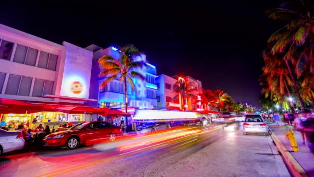 마이애미 비치, 플로리다 - hd 포맷 스톡 비디오 및 b-롤 화면