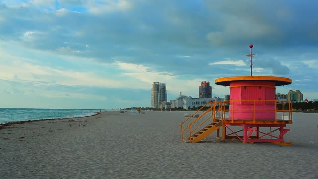 Miami Beach morning video