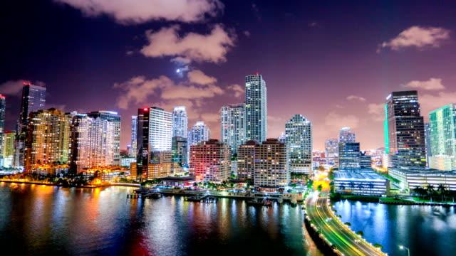 邁阿密, 佛羅里達州 - 市中心 個影片檔及 b 捲影像