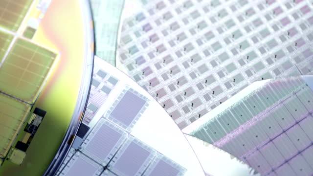 microchips ファブリケーション - 半導体点の映像素材/bロール