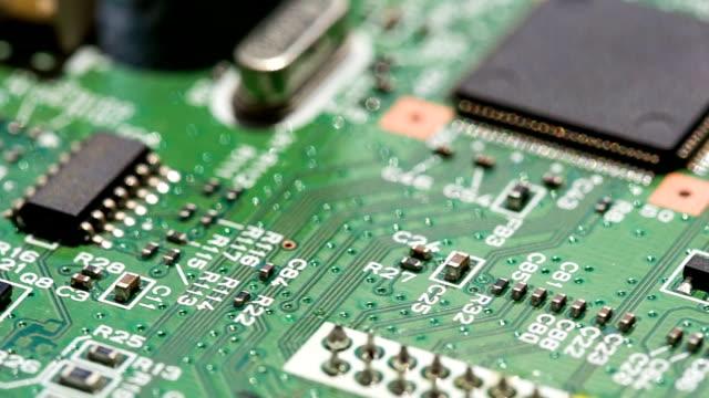 microcircuit ます。 - 半導体点の映像素材/bロール
