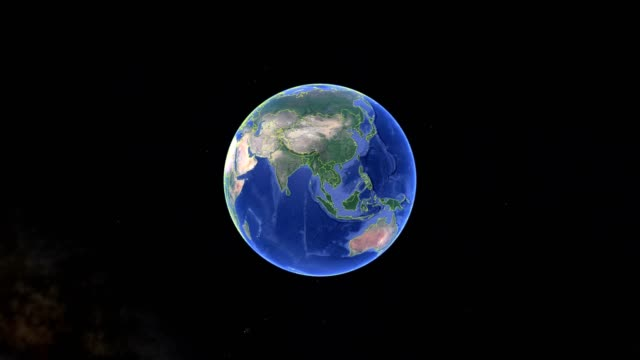 Micronesia with flag. 3d earth in space - zoom in Micronesia outer Micronesia with flag. 3d earth in space - zoom in Micronesia outer, created using ultra high res NASA pacific islands stock videos & royalty-free footage