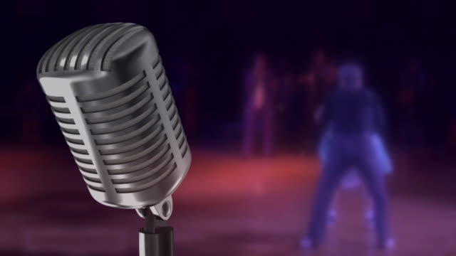 microphone and ROCK-N-ROLL video