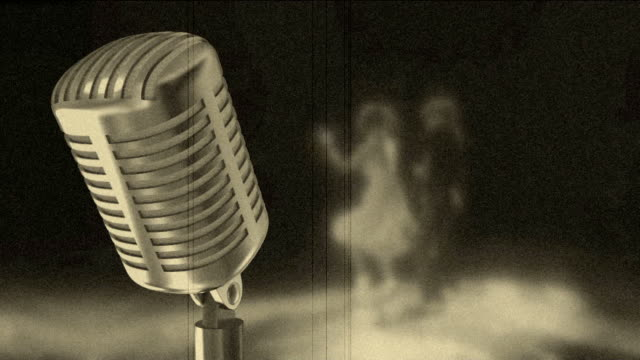 microphone and ROCK-N-ROLL
