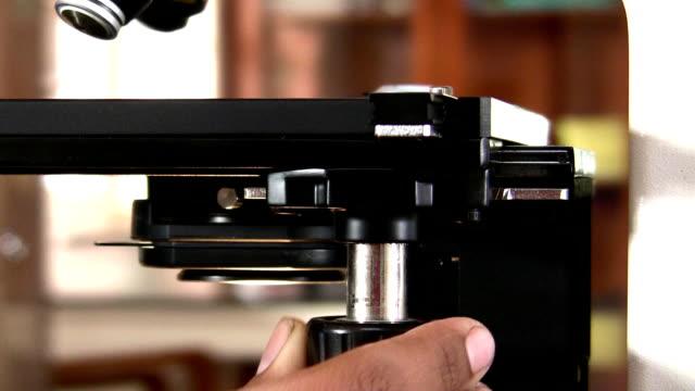 vidéos et rushes de microscope - étudiant(e)