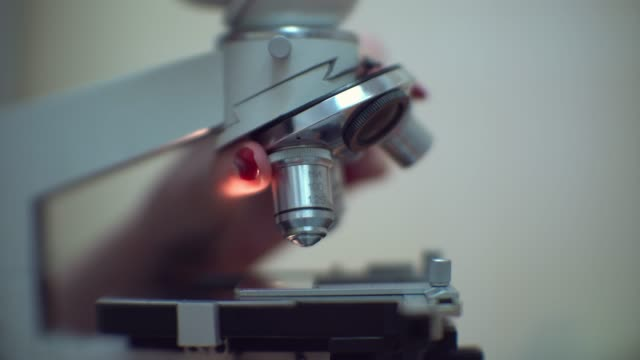 microscope - science research stock videos & royalty-free footage