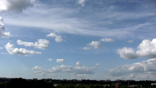 Midday clouds time-lapse Time-lapse of clouds over the city at midday 35 midday stock videos & royalty-free footage