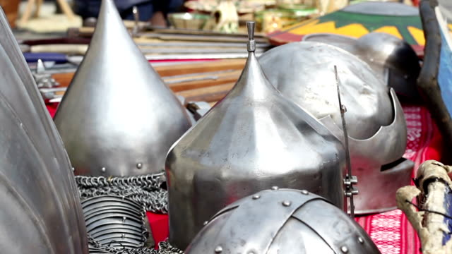 Middle Age War Helmets video