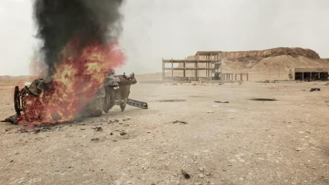 stockvideo's en b-roll-footage met midden-oosten oorlogsscene - conflict