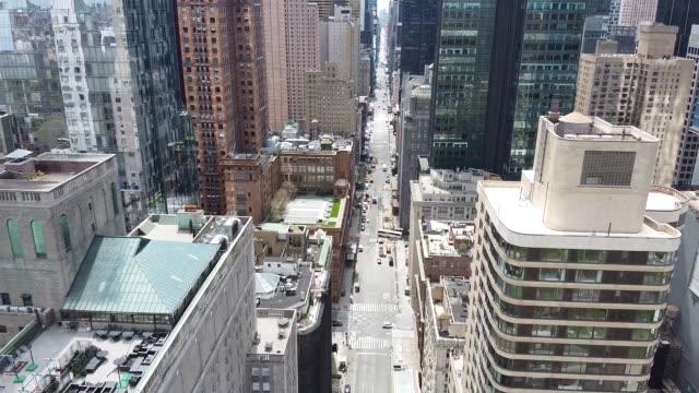 Midtown Manhattan Rush Hour During Pandemic
