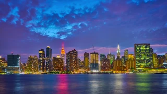 Midtown Manhattan skyline video