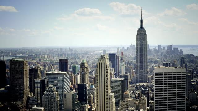 Midtown New York City timelapse video