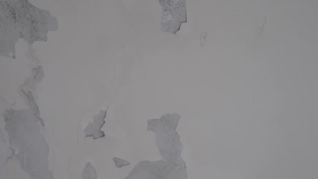 mildew on the wall of an old apartment.in asia. - imperfection stock videos & royalty-free footage