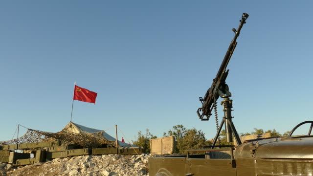 military camp Soviet troops in Afghanistan video