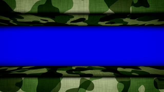 Military Door, with Blue Screen, Loop video