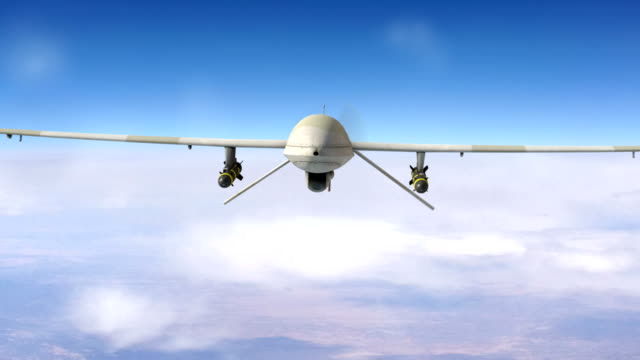 military drone in the sky - military stock videos & royalty-free footage