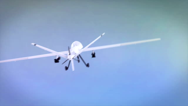 Military Drone video