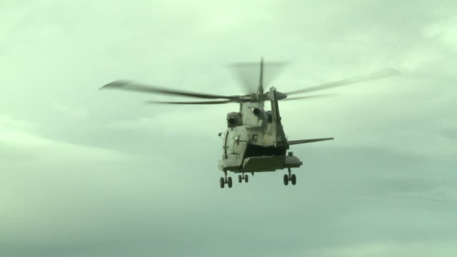 Military education and training-RESCUE HELICOPTER LANDS SAFELY video