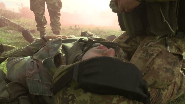 Military education and training-The chest wound video