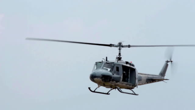 Military Helicopter Landing. video
