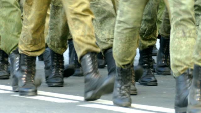 vídeos y material grabado en eventos de stock de military de marzo - rusia