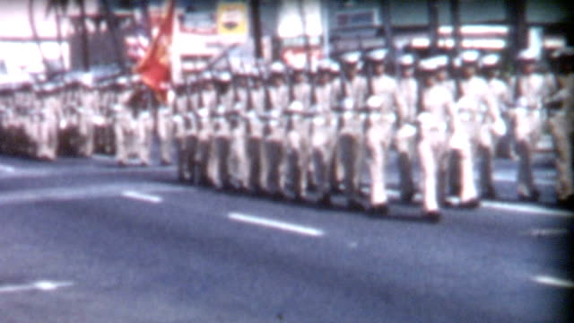 Military Parade and Nurses 1950's