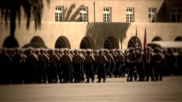Military_Procession_4725_HD video