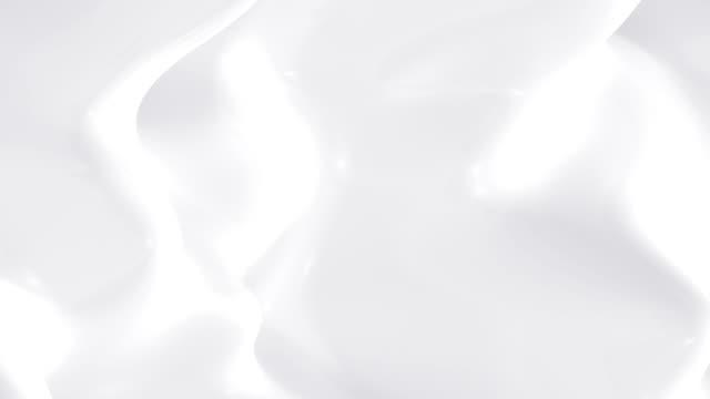 milk slow motion, loop - sıvı stok videoları ve detay görüntü çekimi
