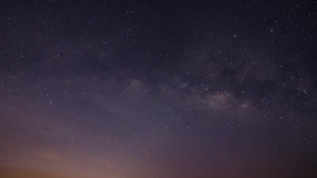 銀河系在日出時移後, 4k(uhd) - 亞洲中部 個影片檔及 b 捲影像