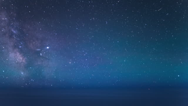 Milky Way Aircraft Passenger Point of View Timelapse
