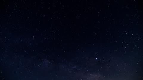 vídeos de stock e filmes b-roll de milky way and meteor - sky