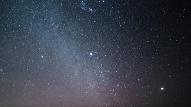 vídeos de stock, filmes e b-roll de via láctea galaxy  - via láctea