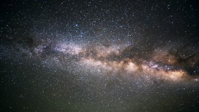 vídeos y material grabado en eventos de stock de milky way galaxy  - constelación