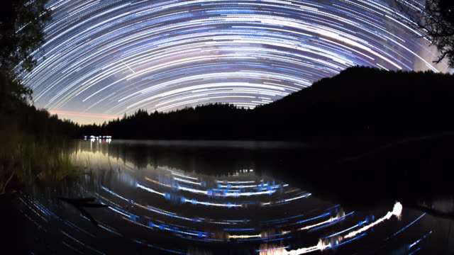 Milky Way Night Sky video