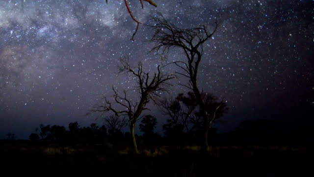 Milky Way Outback Timelapse video