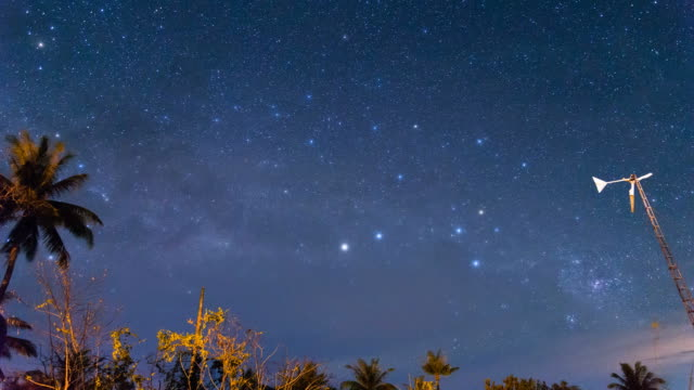 Milky Way Time Lapse in Borneo video