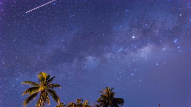 Milky Way Time Lapse in Sabah Borneo video