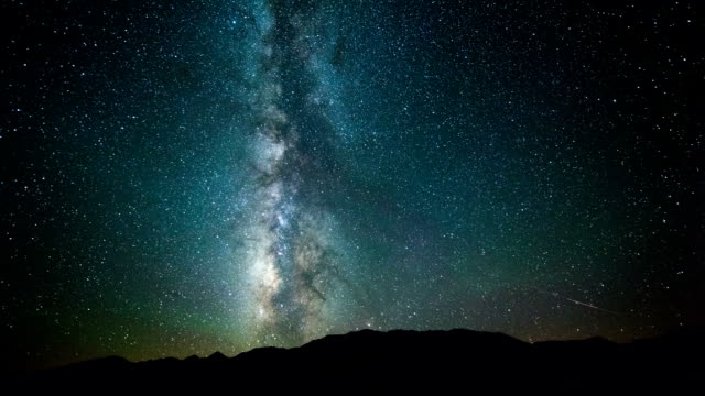 TIME LAPSE: Milky Way video
