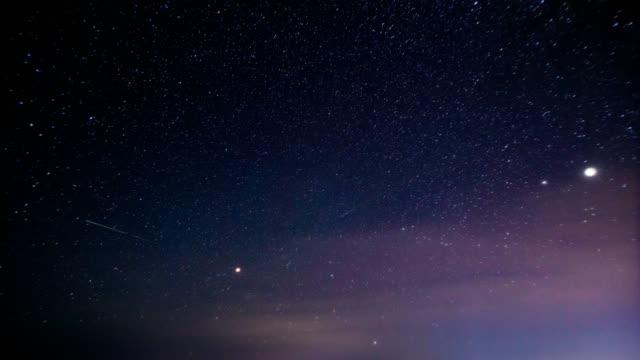 日本的銀河系延時。 - sky 個影片檔及 b 捲影像