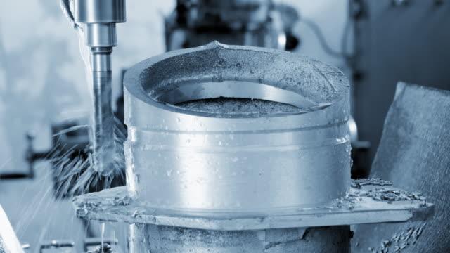 CNC Milling Machine video