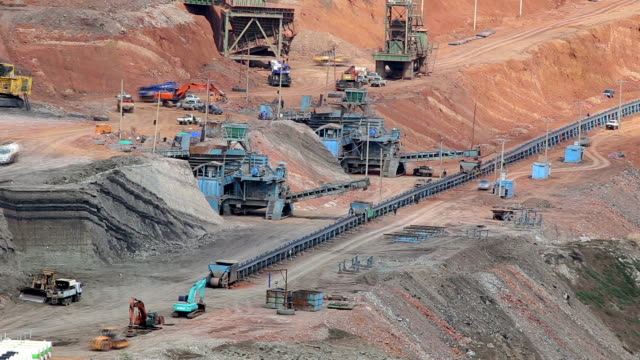 mine Machinery, mining mining natural resources stock videos & royalty-free footage