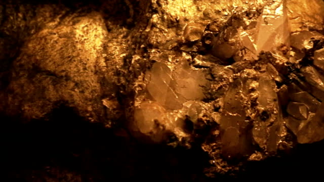 Mineral in mine video