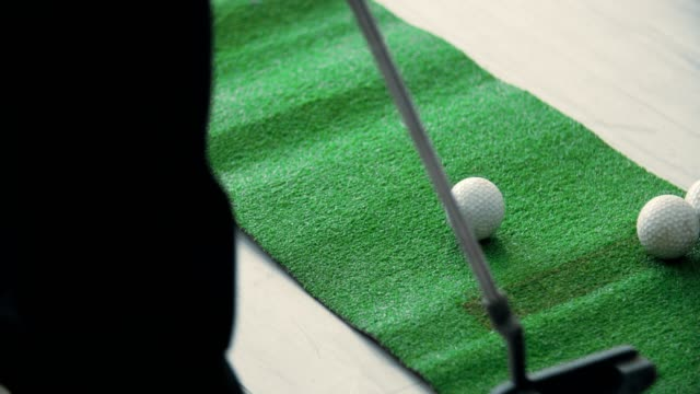 Mini golf in office