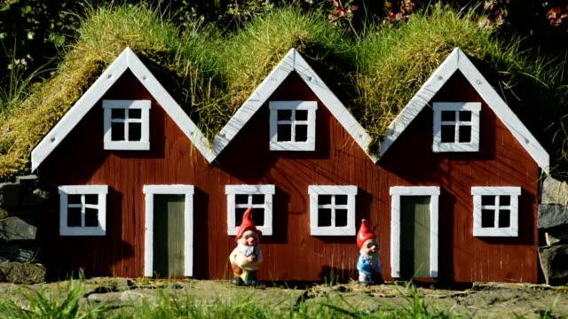 Miniature Icelandic Homes